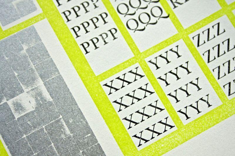 Letterpress in Design Education