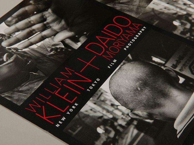 Klein + Moriyama Exhibition Graphics