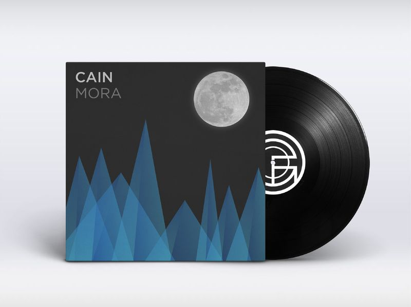 CAIN 'Mora EP' Record sleeve design