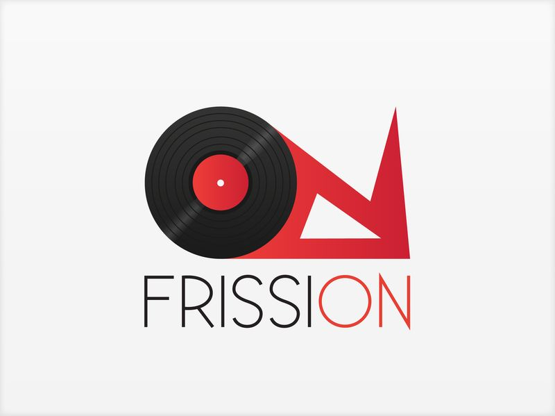 Frission Radio Logo design