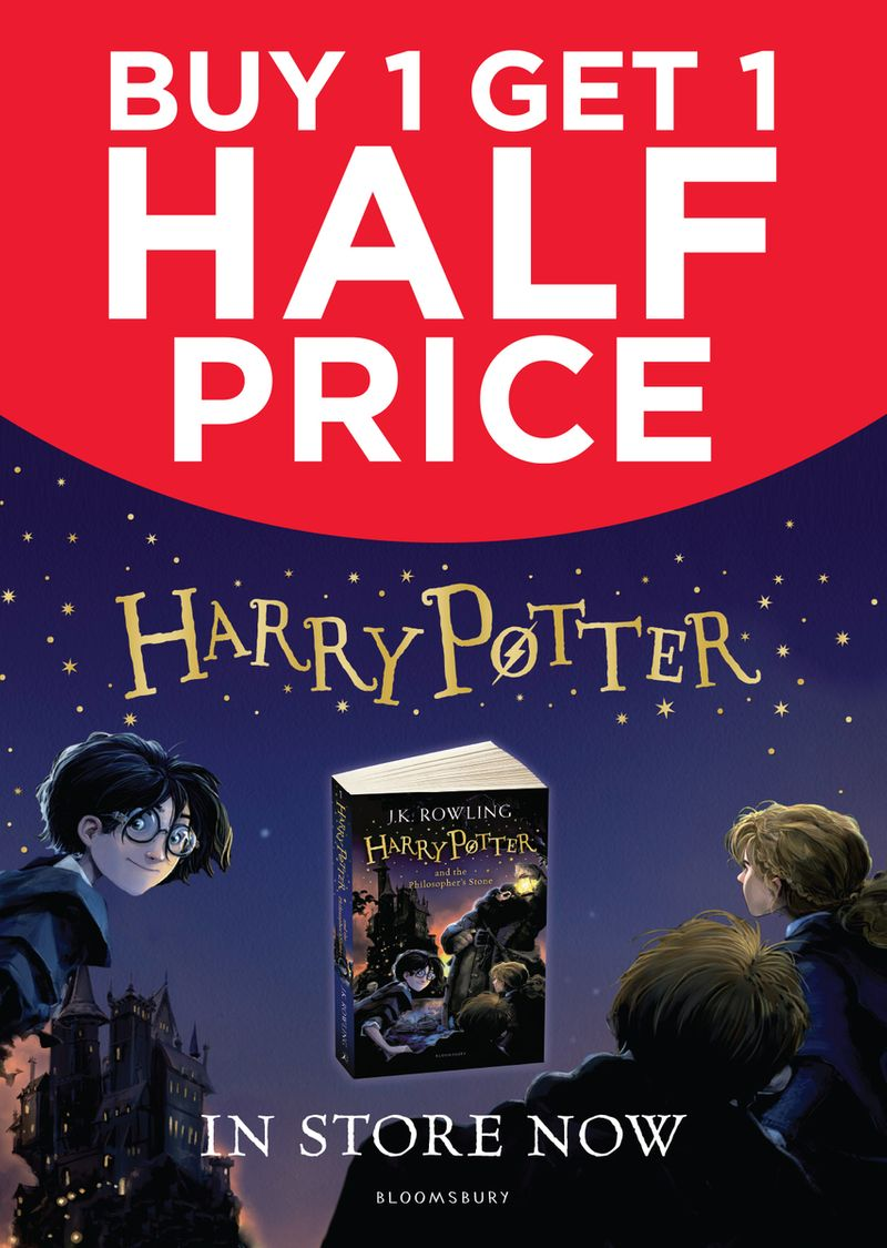 Harry Potter Door Panels for WHSmith