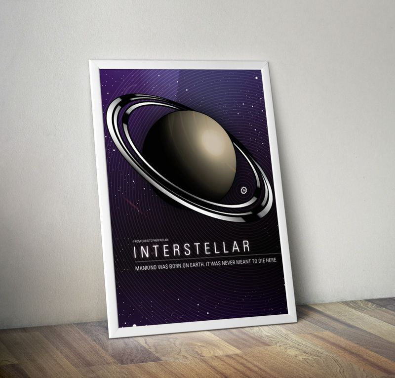 Interstellar Concept Poster