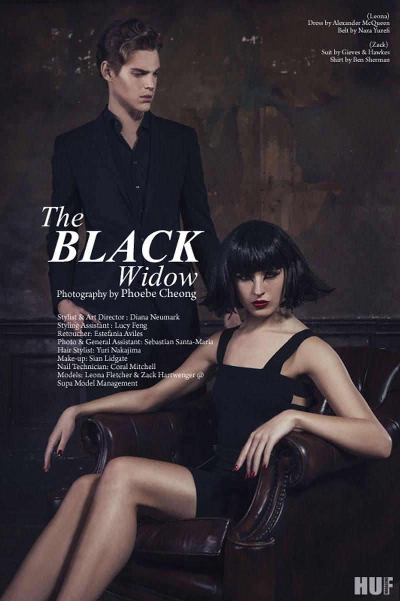 The Black Widow @ HUF Magazine