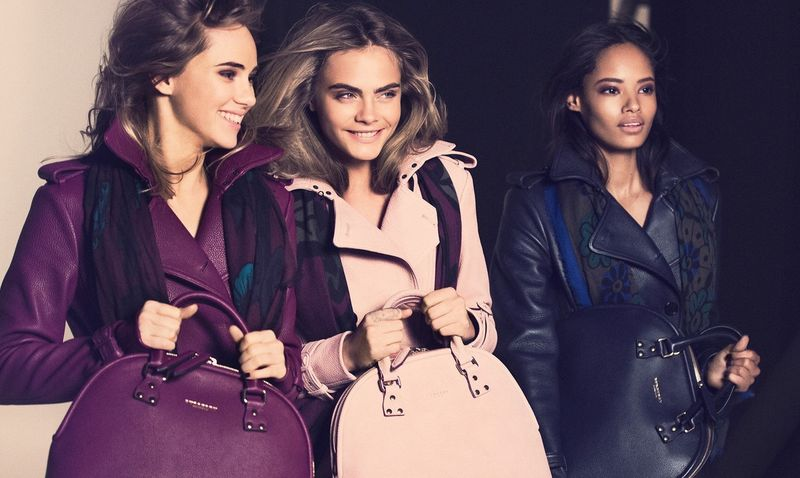 Behind The Scenes - The Burberry Autumn/Winter 2014 Campaign