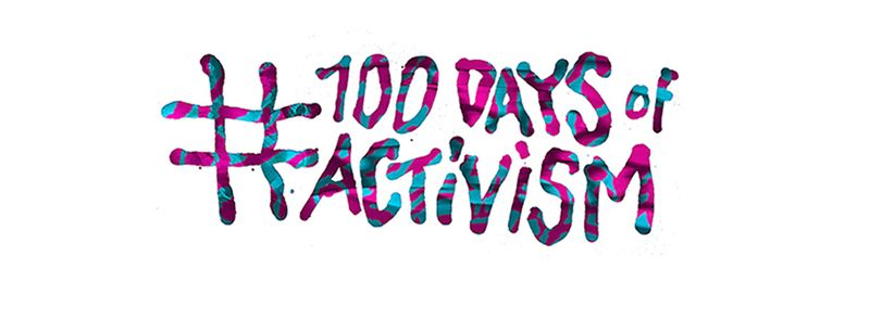 100 Day of Activism