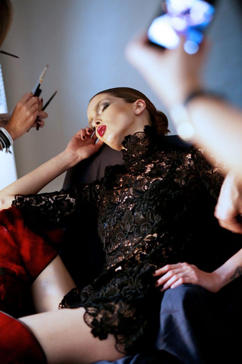 Backstage - Harper's Bazaar