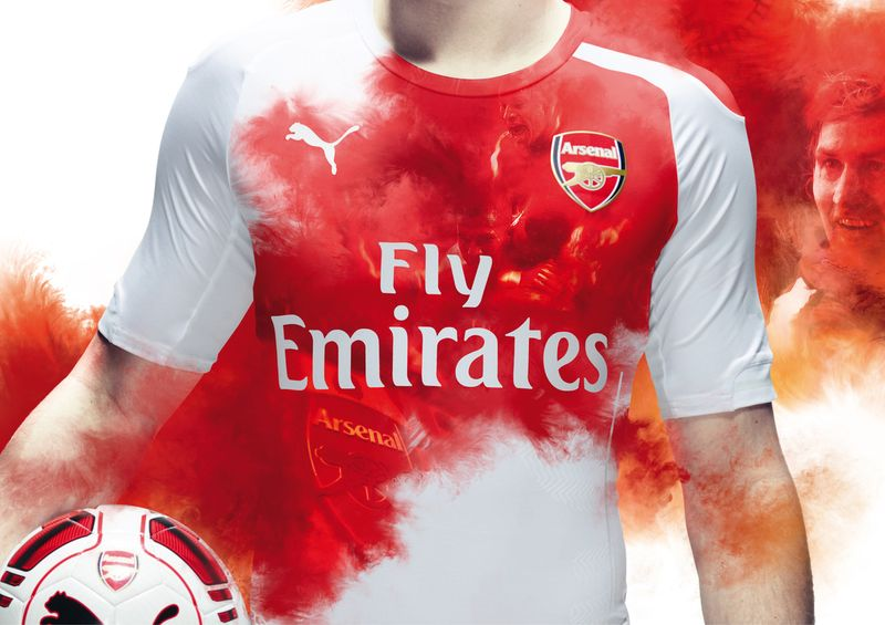 Arsenal FC 2014 Kit Launch