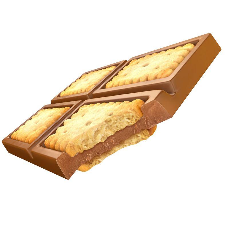 Cadbury Dairy Milk Ritz and Lu Biscuit 3D Model