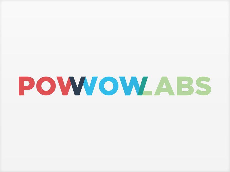 Pow Wow Labs branding & identity