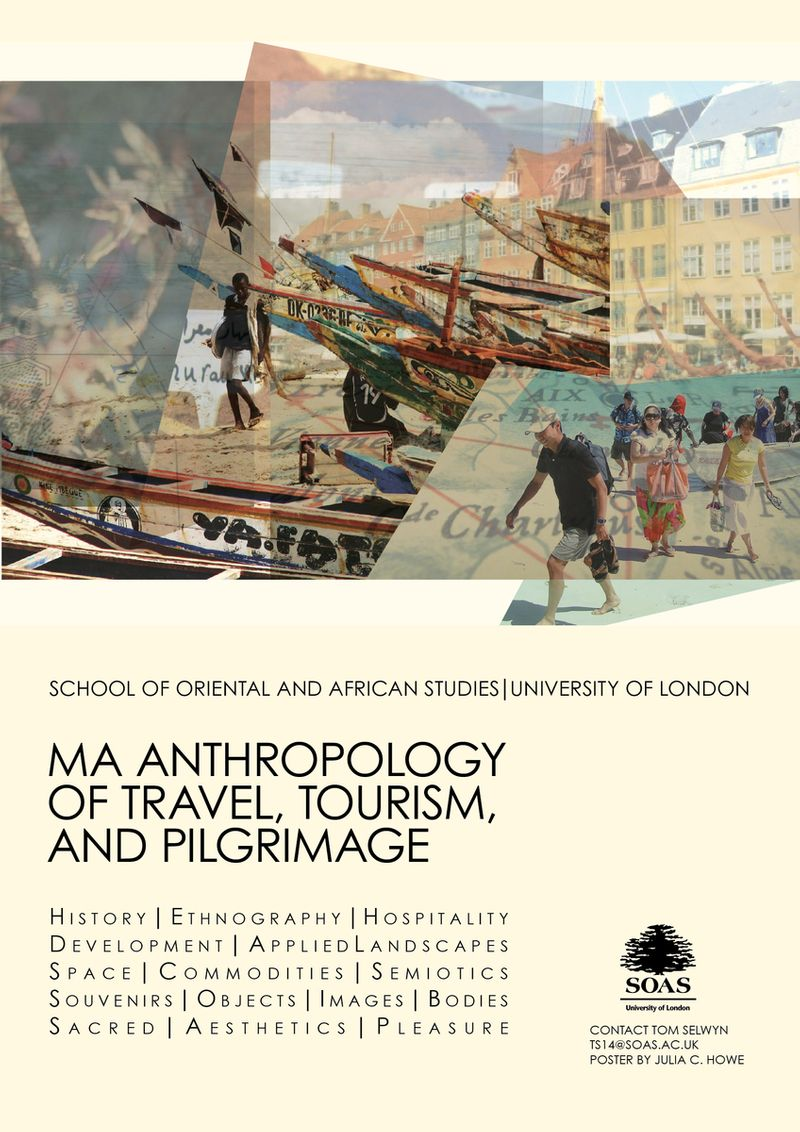 Marketing Campaign Poster: MA Anthropology of Travel, Tourism, and Pilgrimage