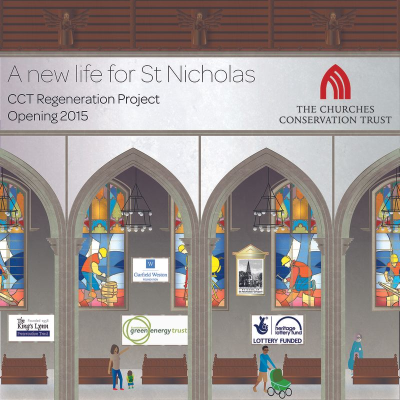 Churches Conservation Trust Construction Hoarding