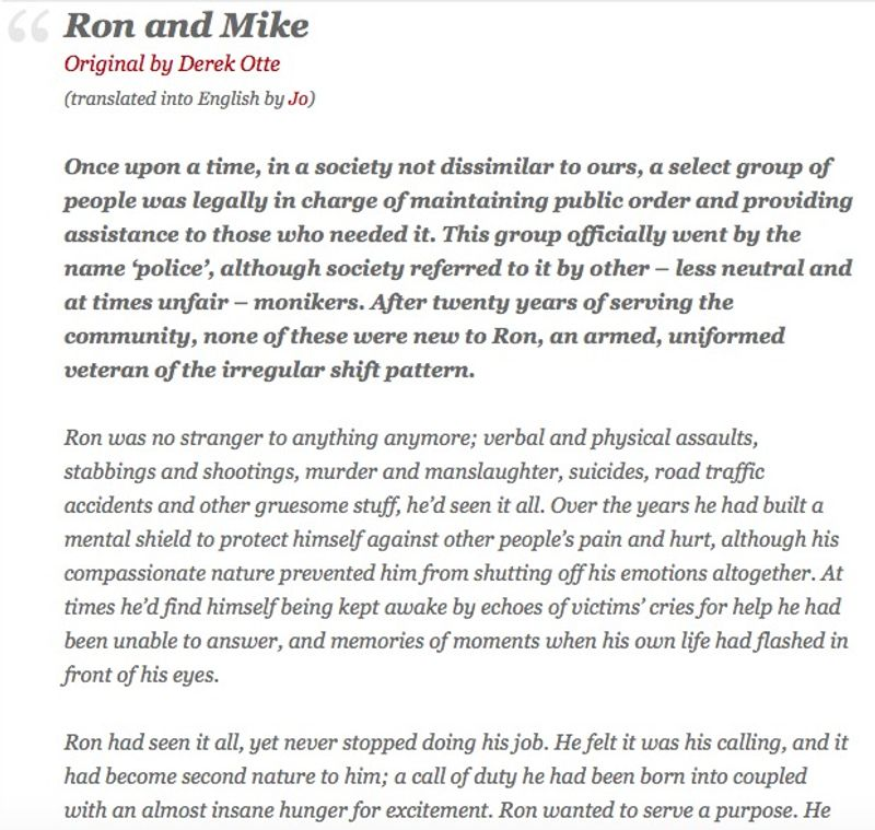 Ron and Mike