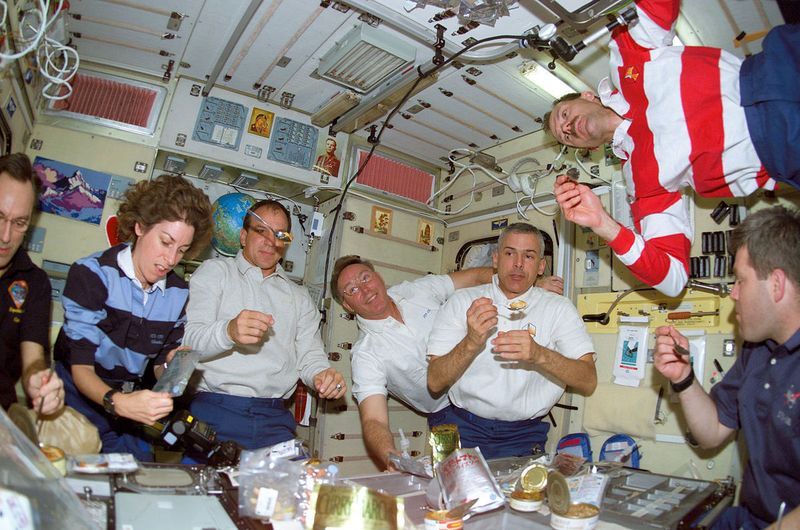 Astronauts Are Eating Gourmet Food in Space Now - Munchies