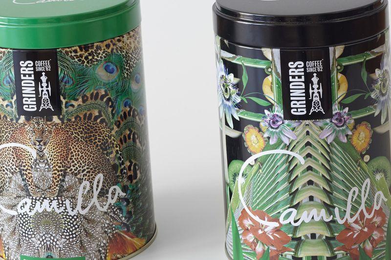 Grinders Coffee Tins