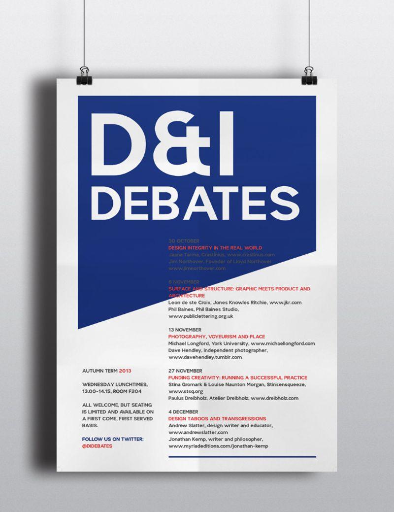 CSM Design & Interaction Debates Posters