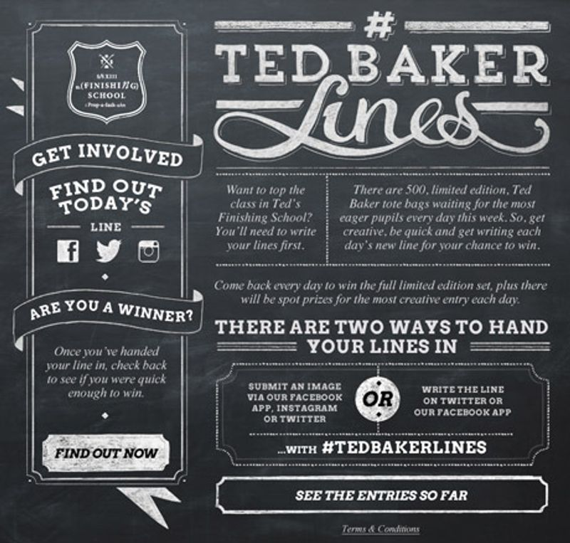 Ted Baker Lines