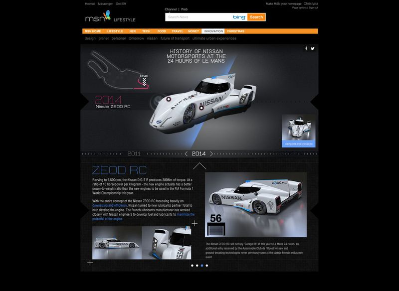 NISSAN HISTORY OF LE MANS