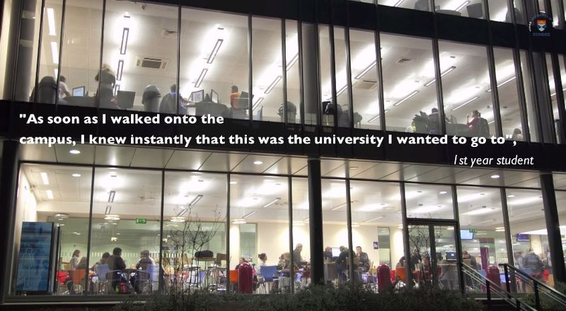 Life on campus University of Dundee timelapse