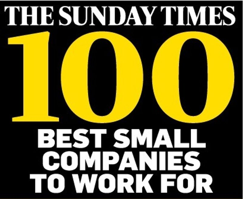 Sunday Times Best Small Companies to Work For