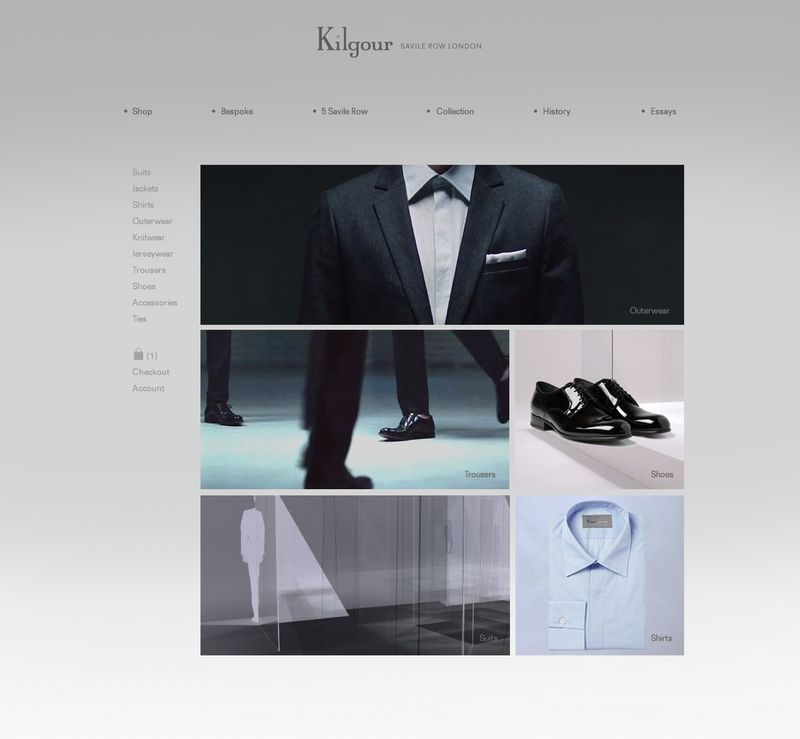 Kilgour Website Design