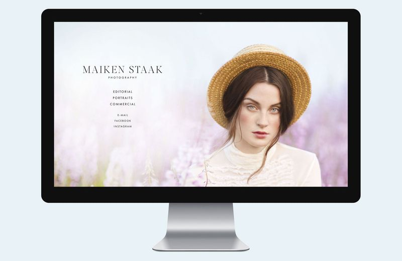 Maiken Staak Photography Website