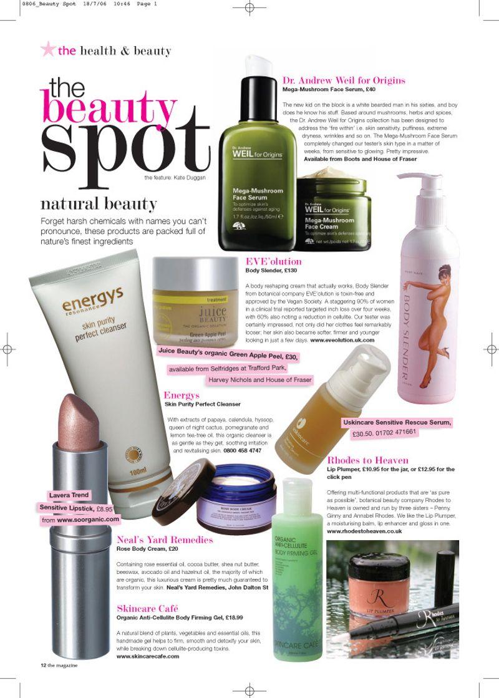 Beauty article