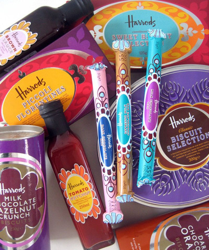 Harrods Food Hall Packaging