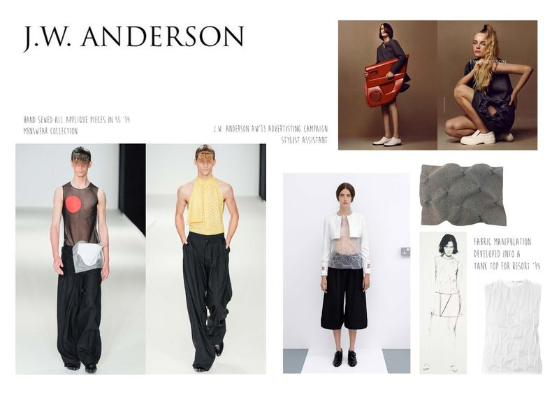 J.W. Anderson Internship