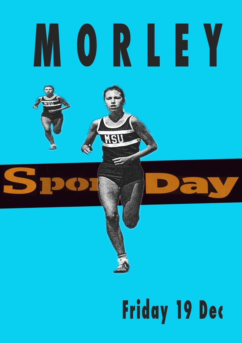 Morley Sports day Poster