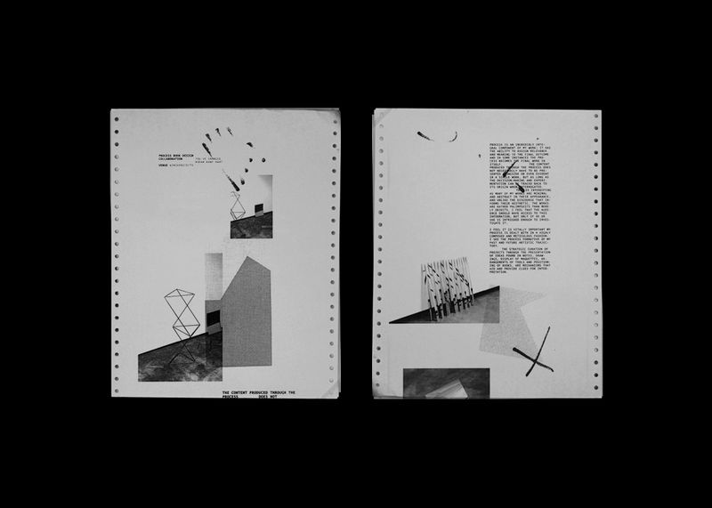 Rodan Kane Hart Exhibition Process Sheet