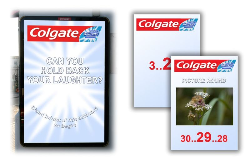 Colgate whitening