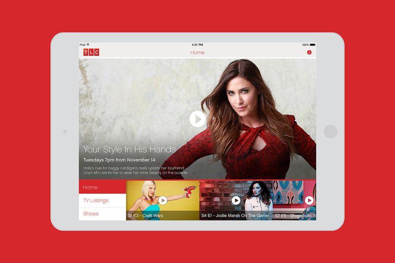 Discovery TLC iOS app