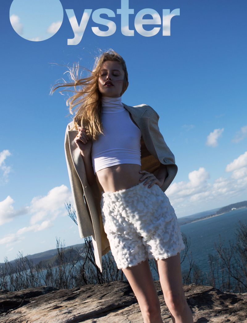 white awakening for oyster magazine