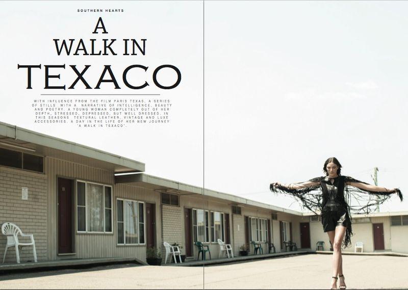 A walk in Texaco