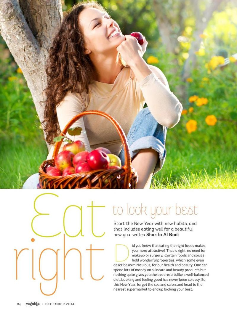 Yoga Life Magazine Beauty