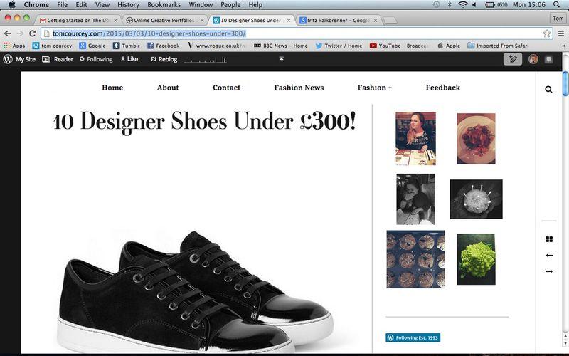 10 Designer Shoes under £300