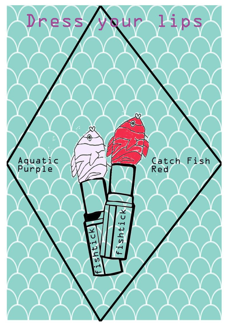 Fact: Most of the lipstick contains fishscales