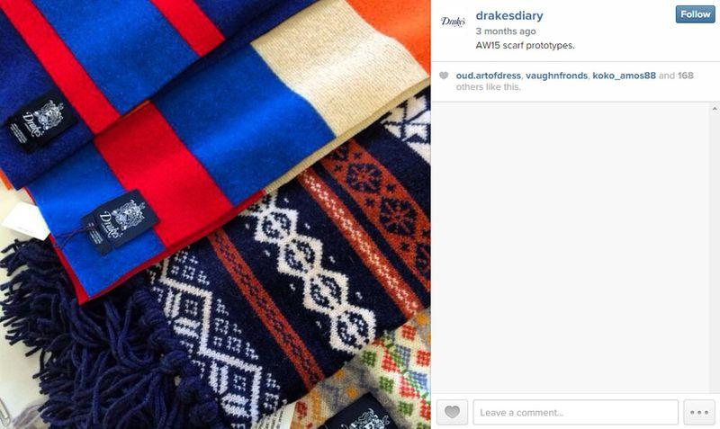 Drake's knitted