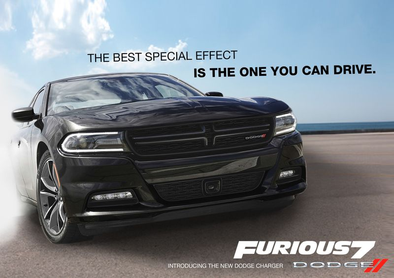Dodge Fast and Furious 7 Promo