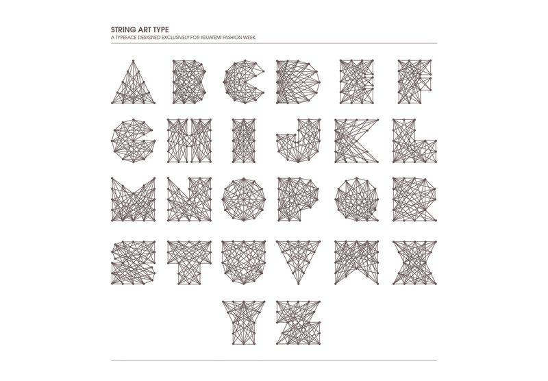String Art Typeface