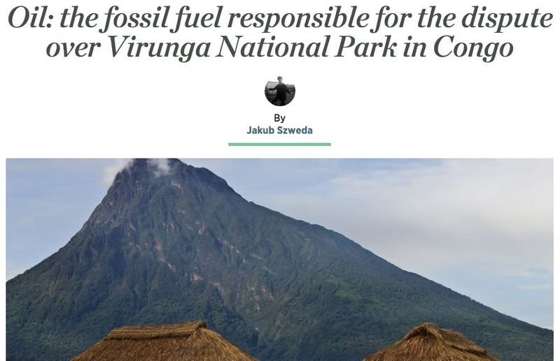 Oil: the fossil fuel responsible for the dispute over Virunga National Park in Congo