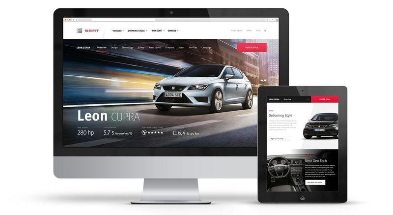 SEAT.COM Creative Web Design and Art Direction