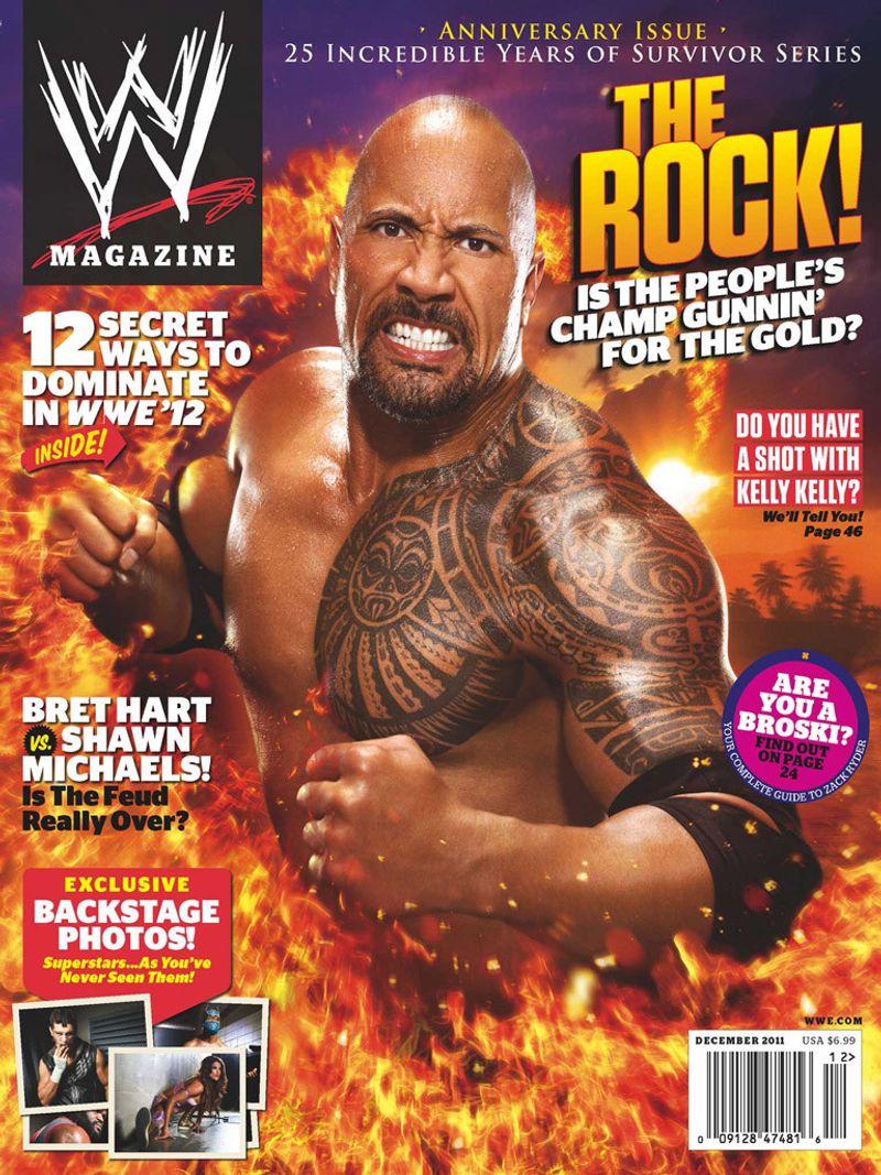 WWE Magazine UK Launch