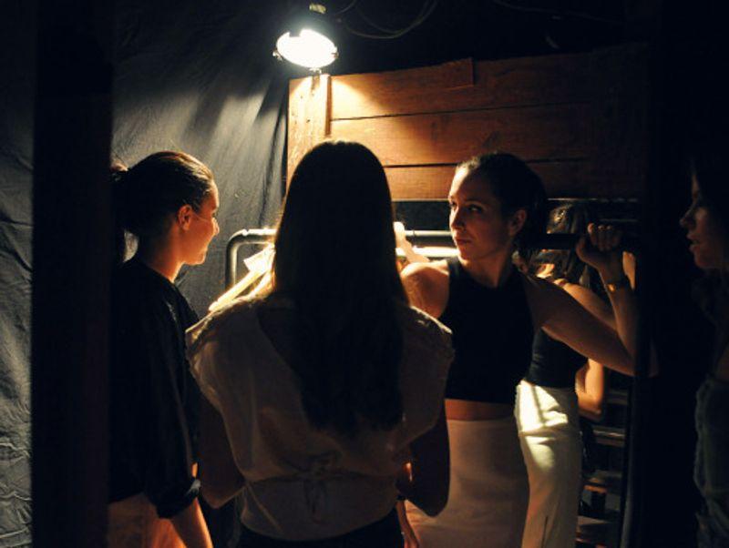 The Pulchritudinous - Backstage