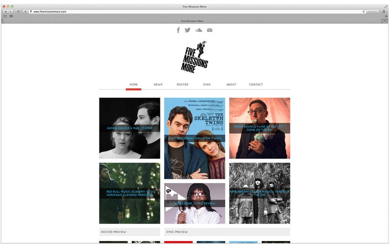 FIVE MISSIONS MORE WEBSITE