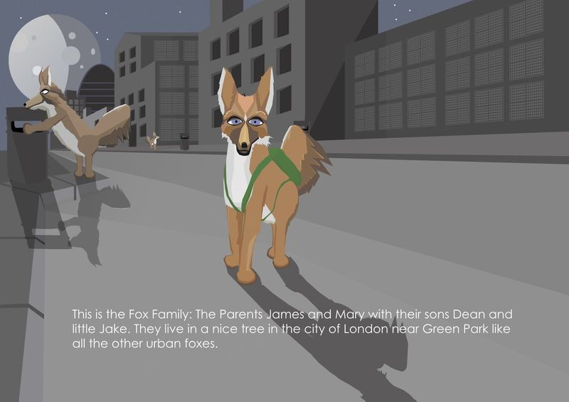 The Journey of Family Fox