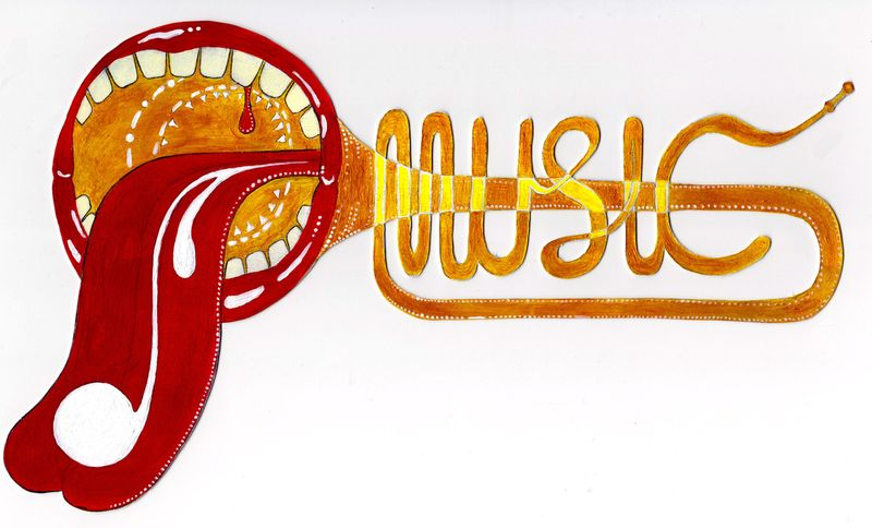 musical typography