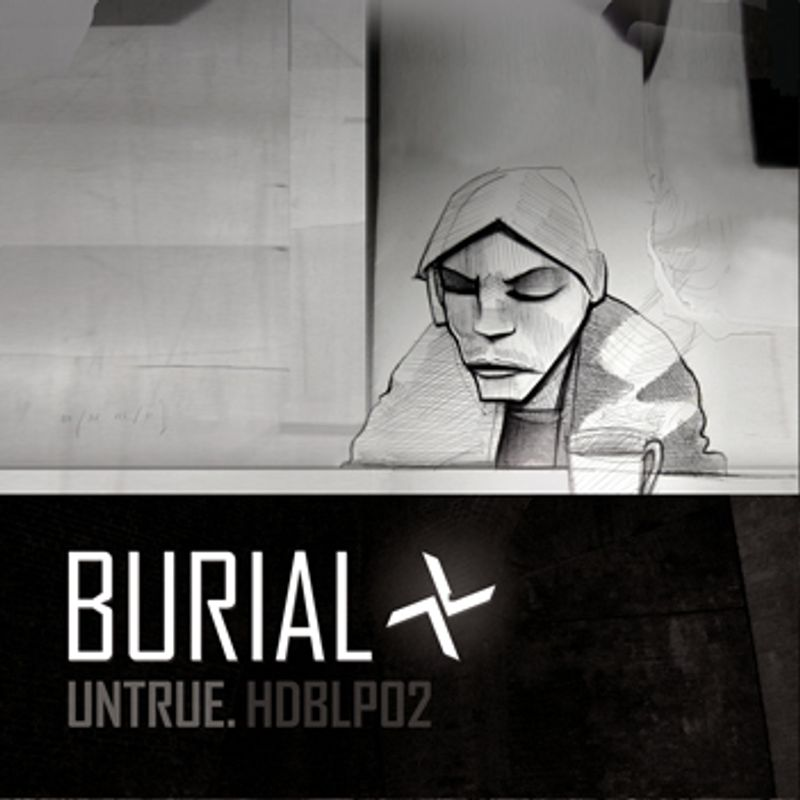 Burial - Untrue LP