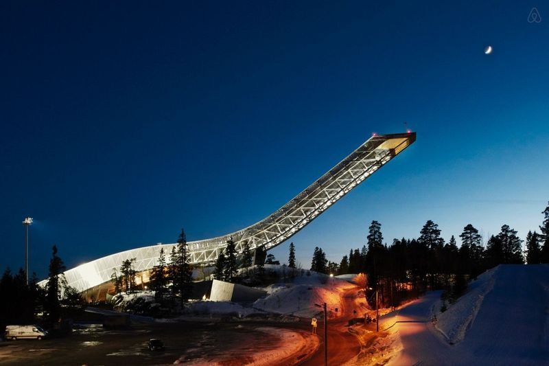 Night At... Holmenkollen ski-jump