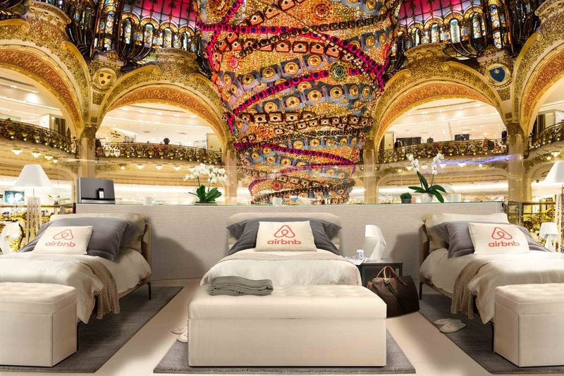 Night At... Les Galeries Lafayette